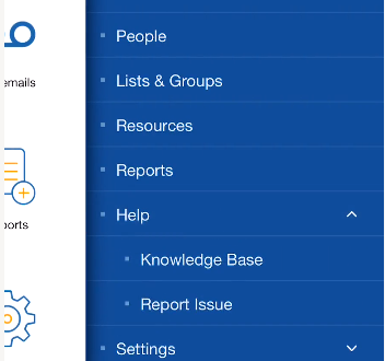 Access Help Inside of the Tendant App Image